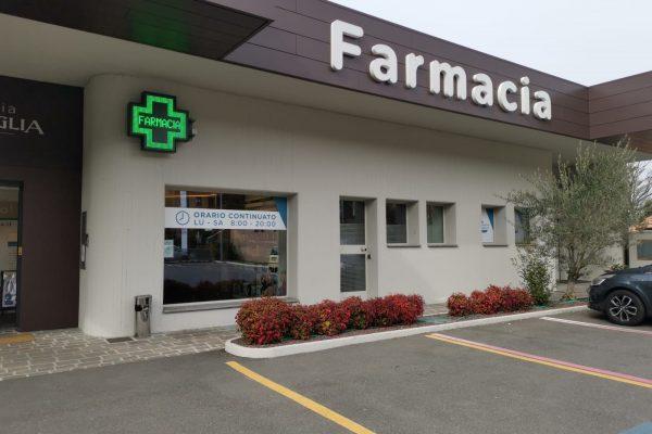Farmacia Dr. Basaglia casse